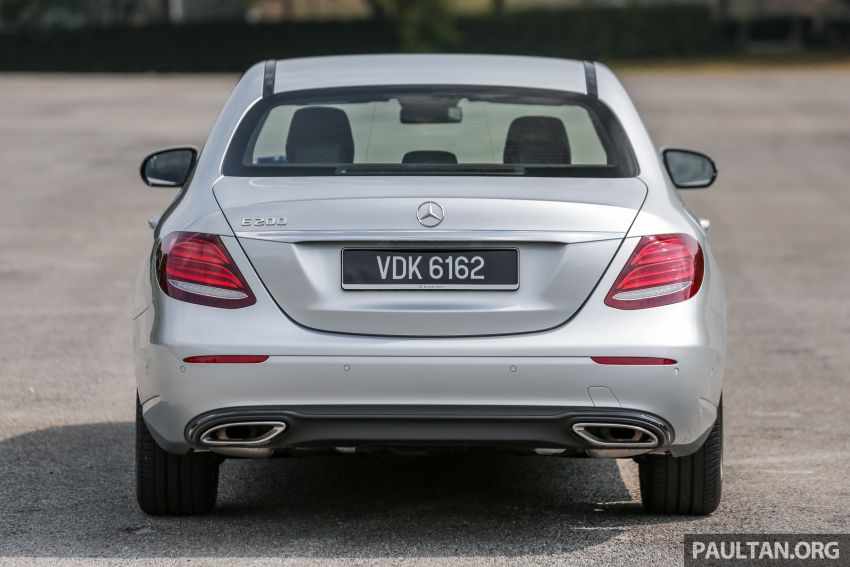 REVIEW: Mercedes-Benz E200 Sportstyle in Malaysia Image #1025962