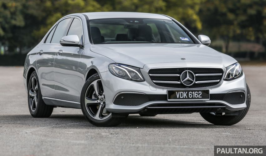 DRIVEN: W213 Mercedes-Benz E200 Sportstyle Image #1025953