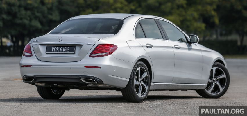 REVIEW: Mercedes-Benz E200 Sportstyle in Malaysia Image #1025959