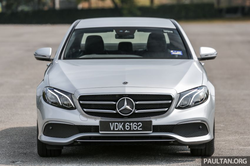 REVIEW: Mercedes-Benz E200 Sportstyle in Malaysia Image #1025960