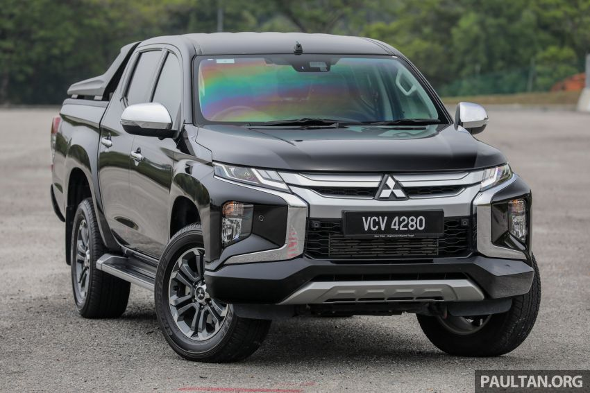 2019 Mitsubishi Triton Adventure X update; with digital video recorder, ARM, revised sound system – RM138k Image #1026326