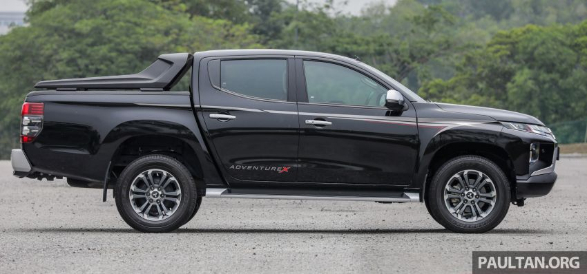 2019 Mitsubishi Triton Adventure X update; with digital video recorder, ARM, revised sound system – RM138k Image #1026336