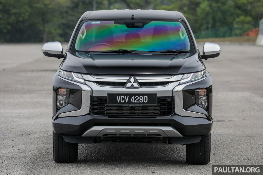 2019 Mitsubishi Triton Adventure X update; with digital video recorder, ARM, revised sound system – RM138k Image #1026337