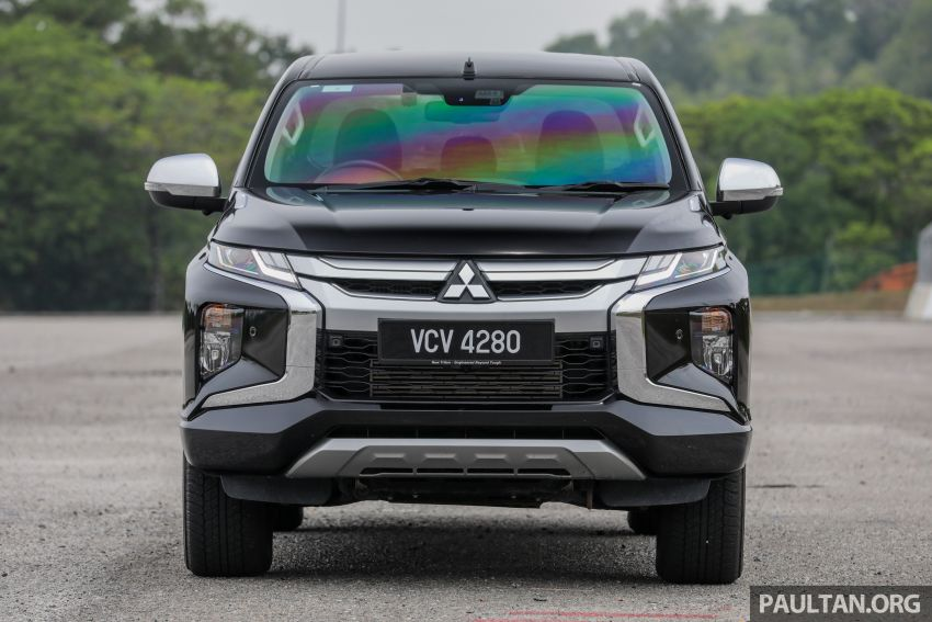 2019 Mitsubishi Triton Adventure X update; with digital video recorder, ARM, revised sound system – RM138k Image #1026338