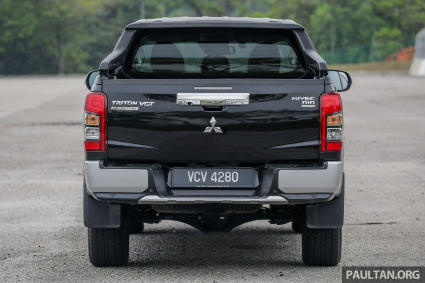 2019 Mitsubishi Triton Adventure X update; with digital video recorder, ARM, revised sound system – RM138k Image #1026339