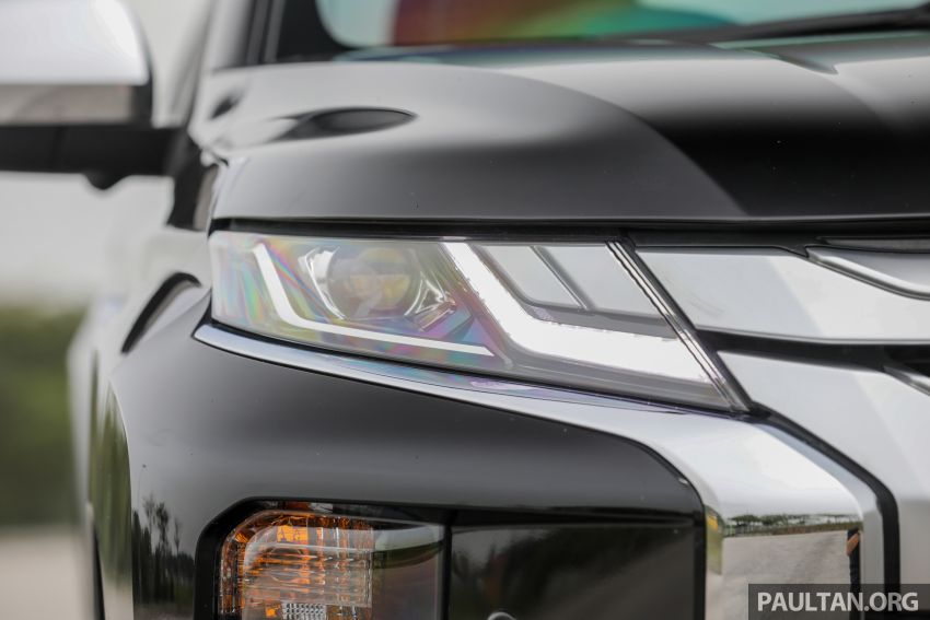 2019 Mitsubishi Triton Adventure X update; with digital video recorder, ARM, revised sound system – RM138k Image #1026342