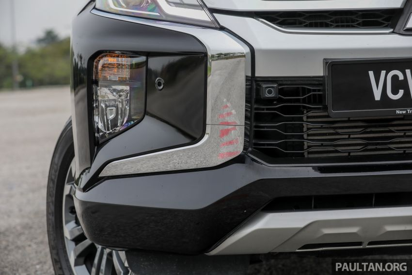 2019 Mitsubishi Triton Adventure X update; with digital video recorder, ARM, revised sound system – RM138k Image #1026345