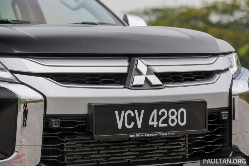 2019 Mitsubishi Triton Adventure X update; with digital video recorder, ARM, revised sound system – RM138k Image #1026346