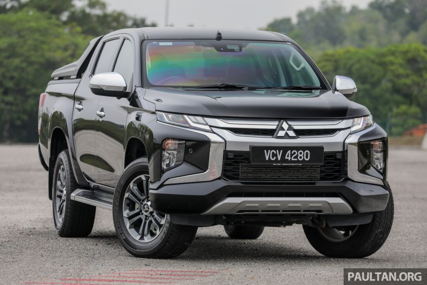 2019 Mitsubishi Triton Adventure X update; with digital video recorder, ARM, revised sound system – RM138k Image #1026327