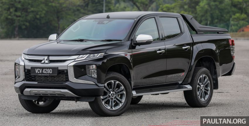 2019 Mitsubishi Triton Adventure X update; with digital video recorder, ARM, revised sound system – RM138k Image #1026328