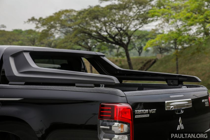 2019 Mitsubishi Triton Adventure X update; with digital video recorder, ARM, revised sound system – RM138k Image #1026376