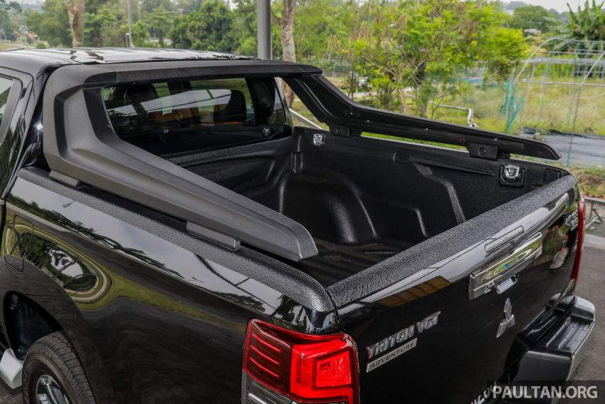2019 Mitsubishi Triton Adventure X update; with digital video recorder, ARM, revised sound system – RM138k Image #1026379