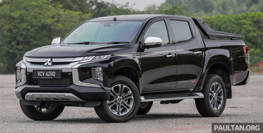 2019 Mitsubishi Triton Adventure X update; with digital video recorder, ARM, revised sound system – RM138k Image #1026329