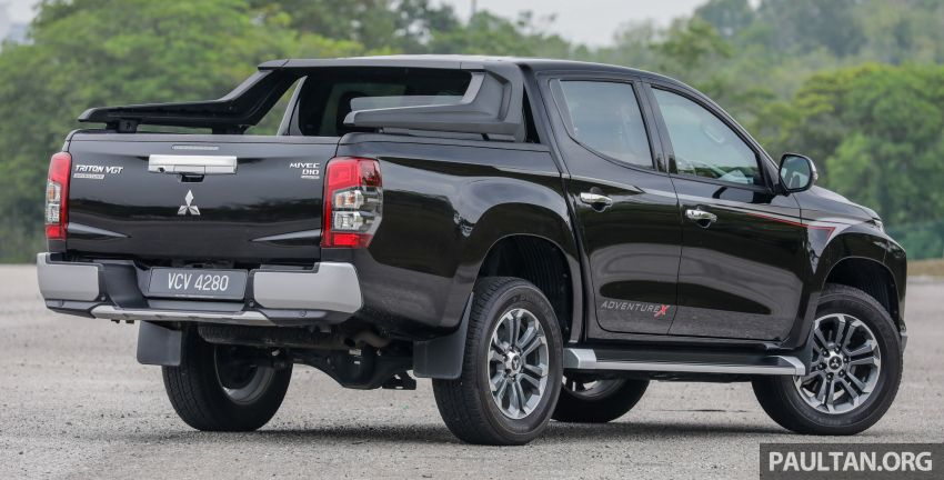 2019 Mitsubishi Triton Adventure X update; with digital video recorder, ARM, revised sound system – RM138k Image #1026331