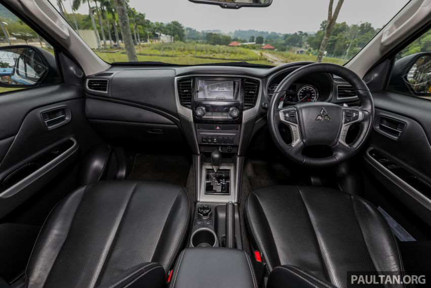 2019 Mitsubishi Triton Adventure X update; with digital video recorder, ARM, revised sound system – RM138k Image #1026400
