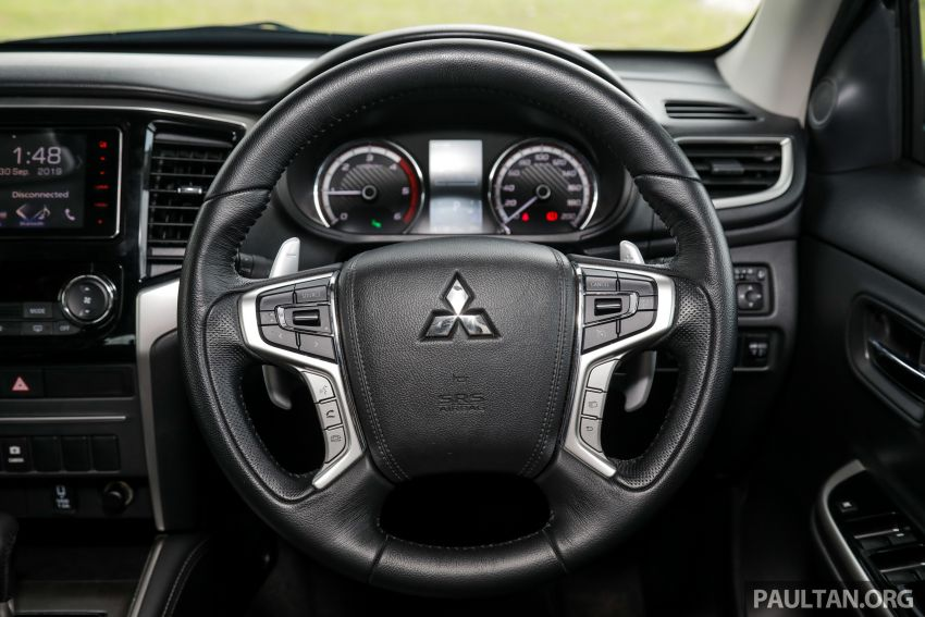 2019 Mitsubishi Triton Adventure X update; with digital video recorder, ARM, revised sound system – RM138k Image #1026444