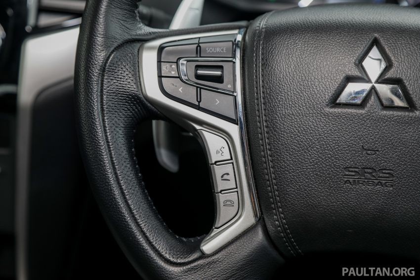 2019 Mitsubishi Triton Adventure X update; with digital video recorder, ARM, revised sound system – RM138k Image #1026445