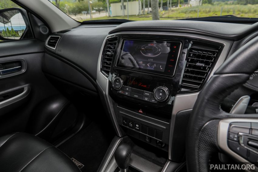 2019 Mitsubishi Triton Adventure X update; with digital video recorder, ARM, revised sound system – RM138k Image #1026449