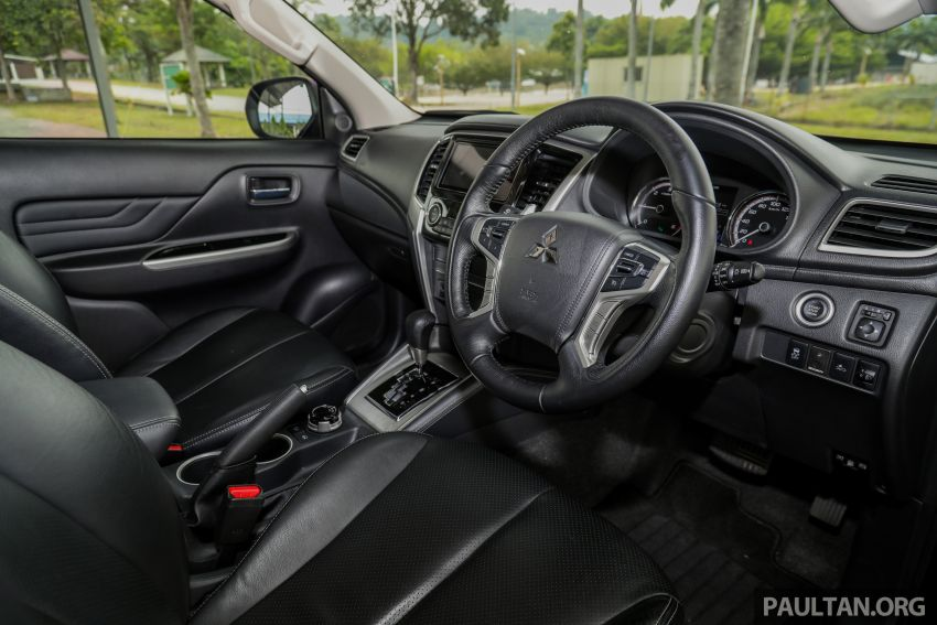 2019 Mitsubishi Triton Adventure X update; with digital video recorder, ARM, revised sound system – RM138k Image #1026430