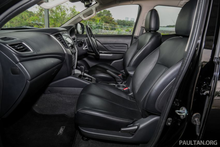 2019 Mitsubishi Triton Adventure X update; with digital video recorder, ARM, revised sound system – RM138k Image #1026507