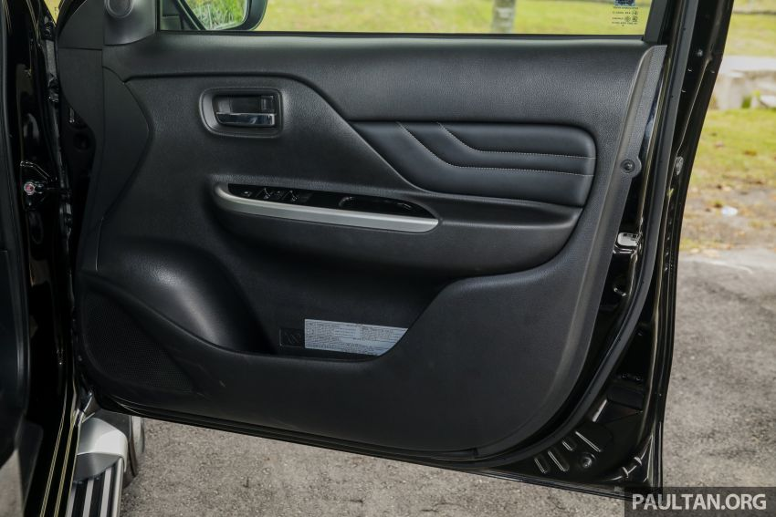 2019 Mitsubishi Triton Adventure X update; with digital video recorder, ARM, revised sound system – RM138k Image #1026512