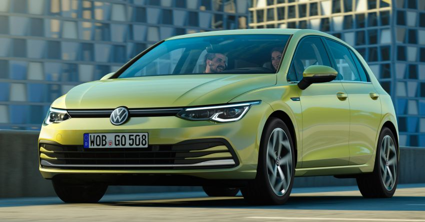 Volkswagen Golf Mk8 officially debuts – redesigned inside and out, new technologies, mild hybrid engines Image #1035461