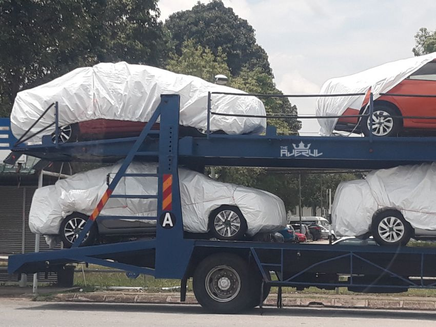 SPYSHOTS: N18 Nissan Almera at KLIA, 2020 launch? Image #1028250