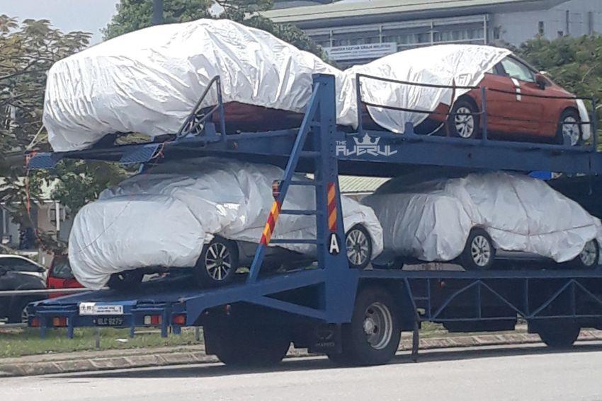 SPYSHOTS: N18 Nissan Almera at KLIA, 2020 launch? Image #1028251