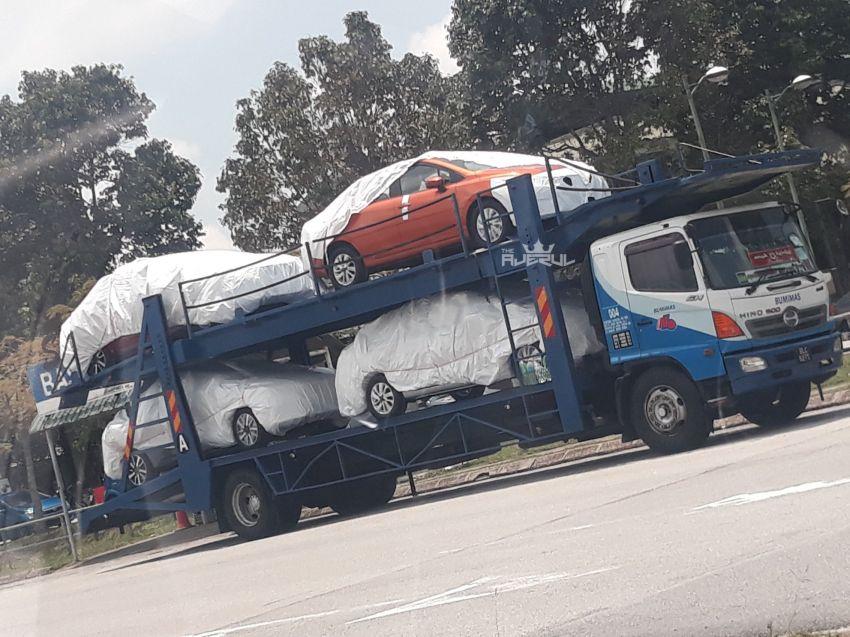 SPYSHOTS: N18 Nissan Almera at KLIA, 2020 launch? Image #1028252
