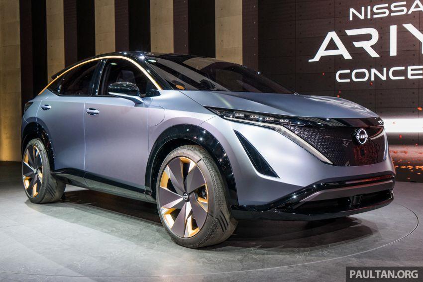 Tokyo 2019: Nissan Ariya Concept – crossover elektrik sepenuhnya tunjuk halatuju rekaan & teknologi baharu Image #1034703