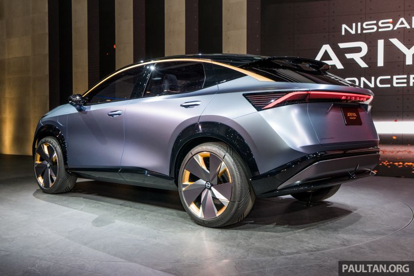 Tokyo 2019: Nissan Ariya Concept – crossover elektrik sepenuhnya tunjuk halatuju rekaan & teknologi baharu Image #1034704