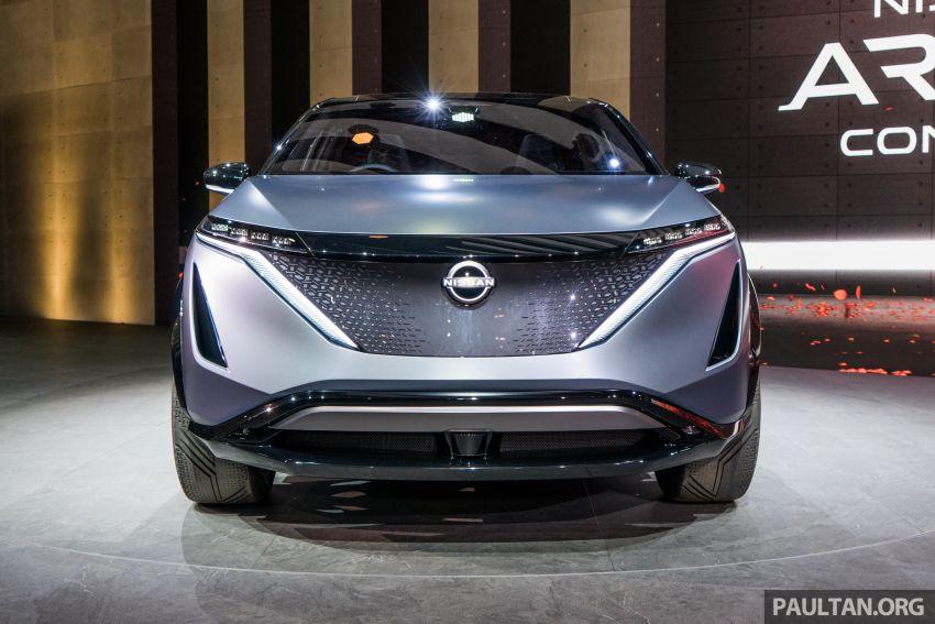 Tokyo 2019: Nissan Ariya Concept – crossover elektrik sepenuhnya tunjuk halatuju rekaan & teknologi baharu Image #1034705