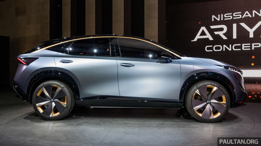 Tokyo 2019: Nissan Ariya Concept officially debuts Image #1033944