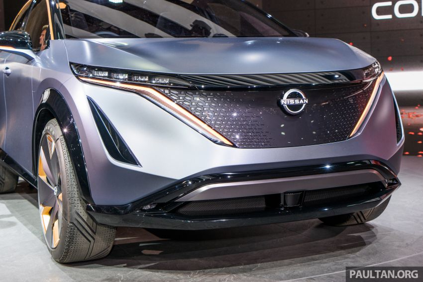 Tokyo 2019: Nissan Ariya Concept – crossover elektrik sepenuhnya tunjuk halatuju rekaan & teknologi baharu Image #1034708