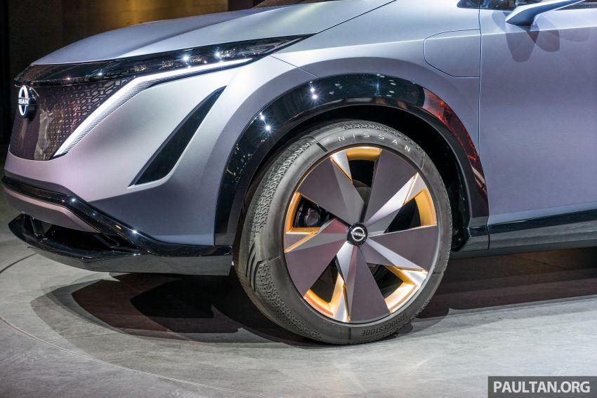 Tokyo 2019: Nissan Ariya Concept – crossover elektrik sepenuhnya tunjuk halatuju rekaan & teknologi baharu Image #1034710