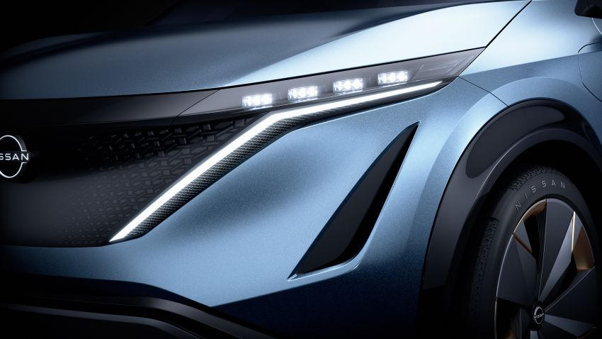 Tokyo 2019: Nissan Ariya Concept – crossover elektrik sepenuhnya tunjuk halatuju rekaan & teknologi baharu Image #1034721