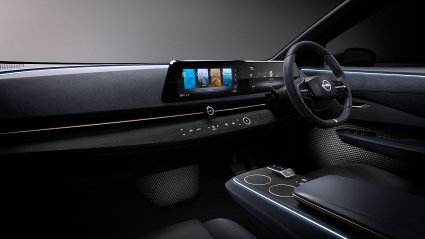 Tokyo 2019: Nissan Ariya Concept – crossover elektrik sepenuhnya tunjuk halatuju rekaan & teknologi baharu Image #1034725