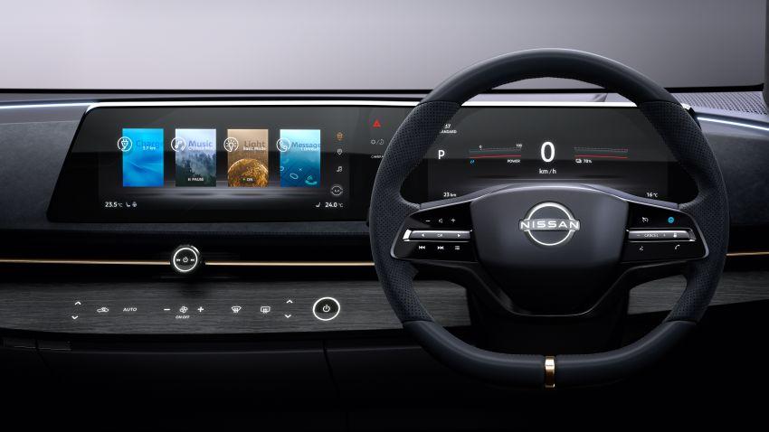 Tokyo 2019: Nissan Ariya Concept – crossover elektrik sepenuhnya tunjuk halatuju rekaan & teknologi baharu Image #1034726