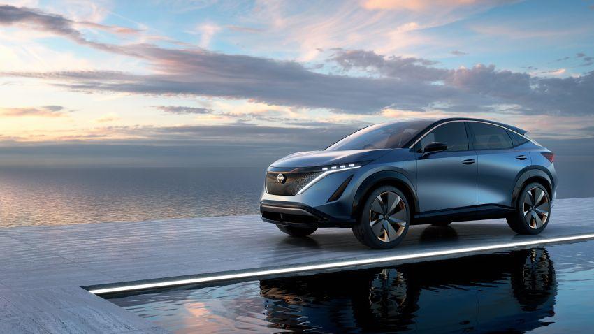 Tokyo 2019: Nissan Ariya Concept – crossover elektrik sepenuhnya tunjuk halatuju rekaan & teknologi baharu Image #1034727