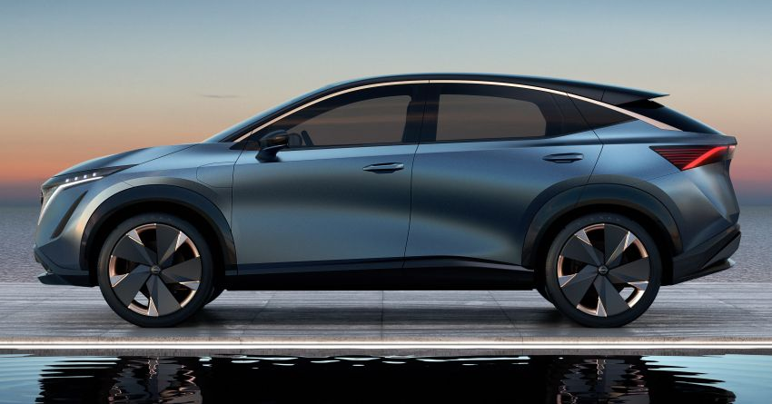 Tokyo 2019: Nissan Ariya Concept – crossover elektrik sepenuhnya tunjuk halatuju rekaan & teknologi baharu Image #1034728