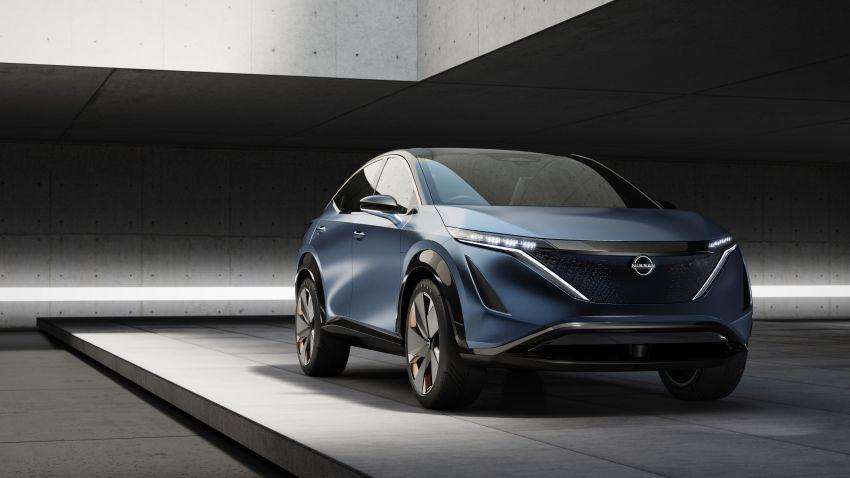 Tokyo 2019: Nissan Ariya Concept – crossover elektrik sepenuhnya tunjuk halatuju rekaan & teknologi baharu Image #1034729