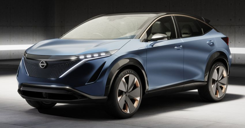 Tokyo 2019: Nissan Ariya Concept officially debuts Image #1033623