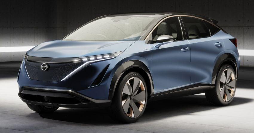 Tokyo 2019: Nissan Ariya Concept – crossover elektrik sepenuhnya tunjuk halatuju rekaan & teknologi baharu Image #1034730
