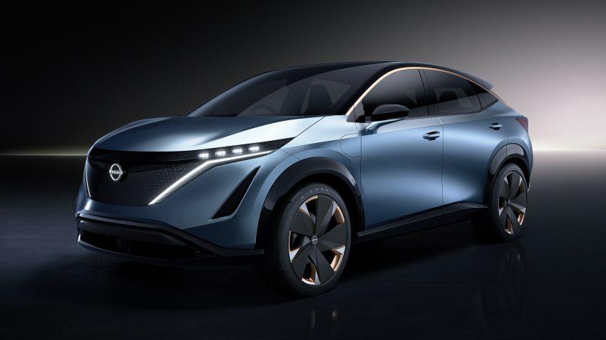Tokyo 2019: Nissan Ariya Concept – crossover elektrik sepenuhnya tunjuk halatuju rekaan & teknologi baharu Image #1034712