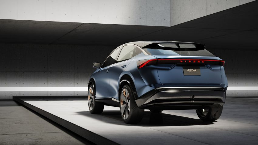 Tokyo 2019: Nissan Ariya Concept – crossover elektrik sepenuhnya tunjuk halatuju rekaan & teknologi baharu Image #1034733