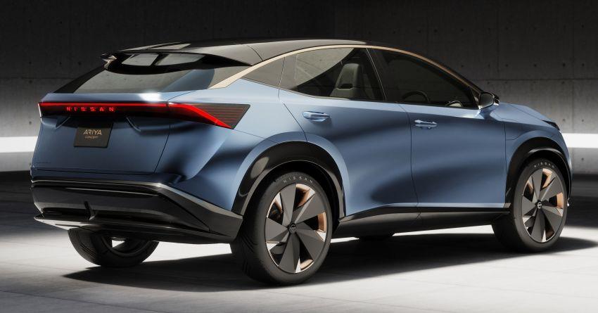 Tokyo 2019: Nissan Ariya Concept – crossover elektrik sepenuhnya tunjuk halatuju rekaan & teknologi baharu Image #1034734