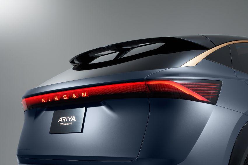 Tokyo 2019: Nissan Ariya Concept – crossover elektrik sepenuhnya tunjuk halatuju rekaan & teknologi baharu Image #1034739