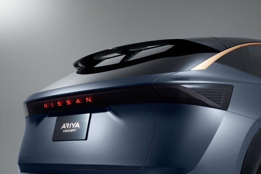 Tokyo 2019: Nissan Ariya Concept – crossover elektrik sepenuhnya tunjuk halatuju rekaan & teknologi baharu Image #1034740