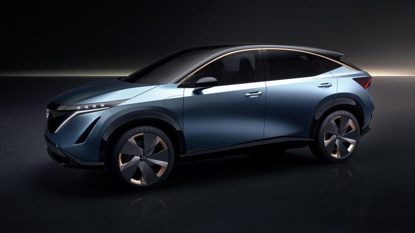 Tokyo 2019: Nissan Ariya Concept officially debuts Image #1033607