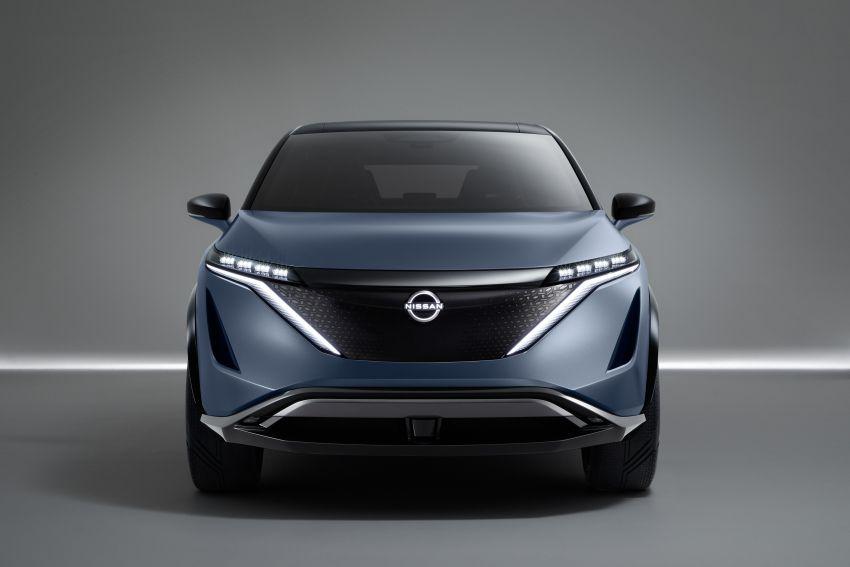 Tokyo 2019: Nissan Ariya Concept officially debuts Image #1033639